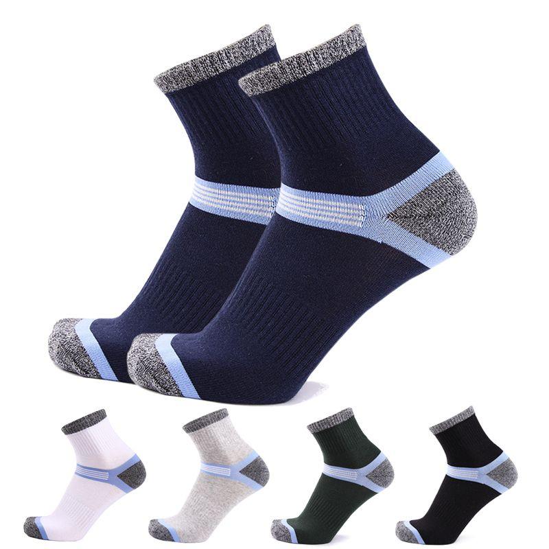 HSS Brand 5Pairs/lot Newest Fashion Cotton Casual Men Socks High Quality Spring Winter Breathable Men's Sporting Socks EU39-45