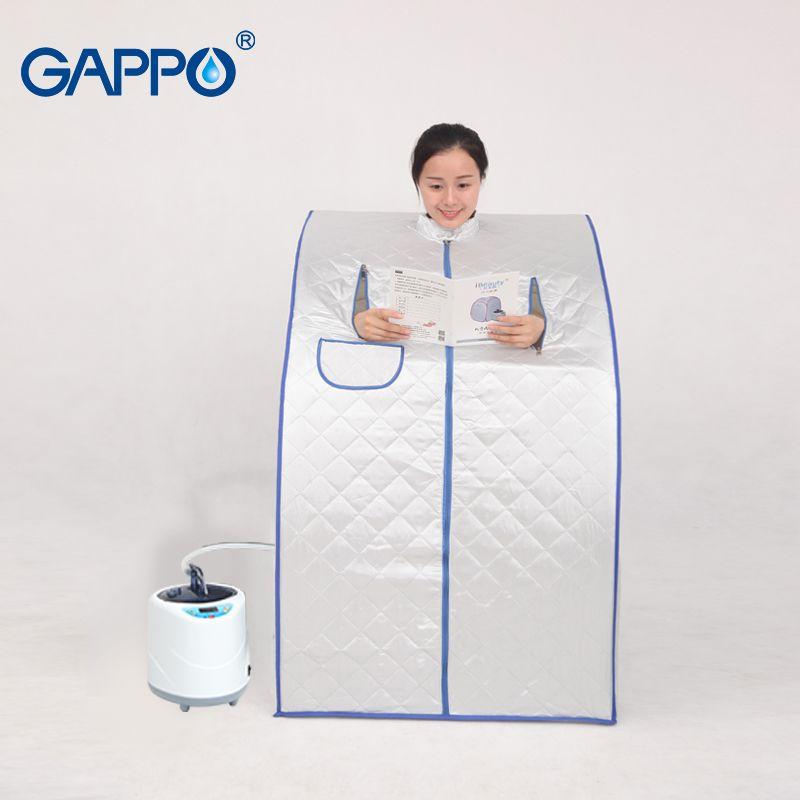 GAPPO Dampf Sauna tragbare sauna zimmer Vorteilhaft haut infrarot Gewicht verlust Kalorien bad SPA mit sauna tasche