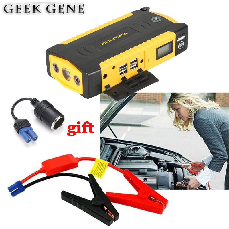 2017 Mini Car Jump Starter Portable 12V Car-Styling Emergency Starting Device Diesel Charger For Car Battery Booster Buster Auto