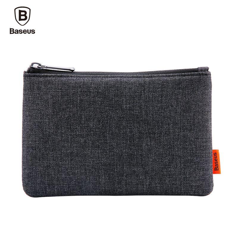 Baseus Téléphone Poche Pour iPhone Samsung Xiaomi Tissu Tissu De Stockage Paquet Sac À Main Téléphone Mobile Sac Cas Accessoires 5.5 Pouce