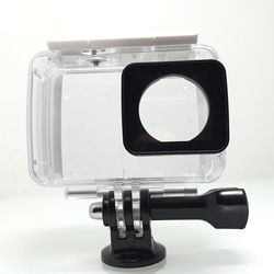 Tekcam 40M Waterproof Case Diving Housing for Xiaomi Yi Lite/Xiaomi yi 2 4k/yi 4k Plus xiaomi yi accessories