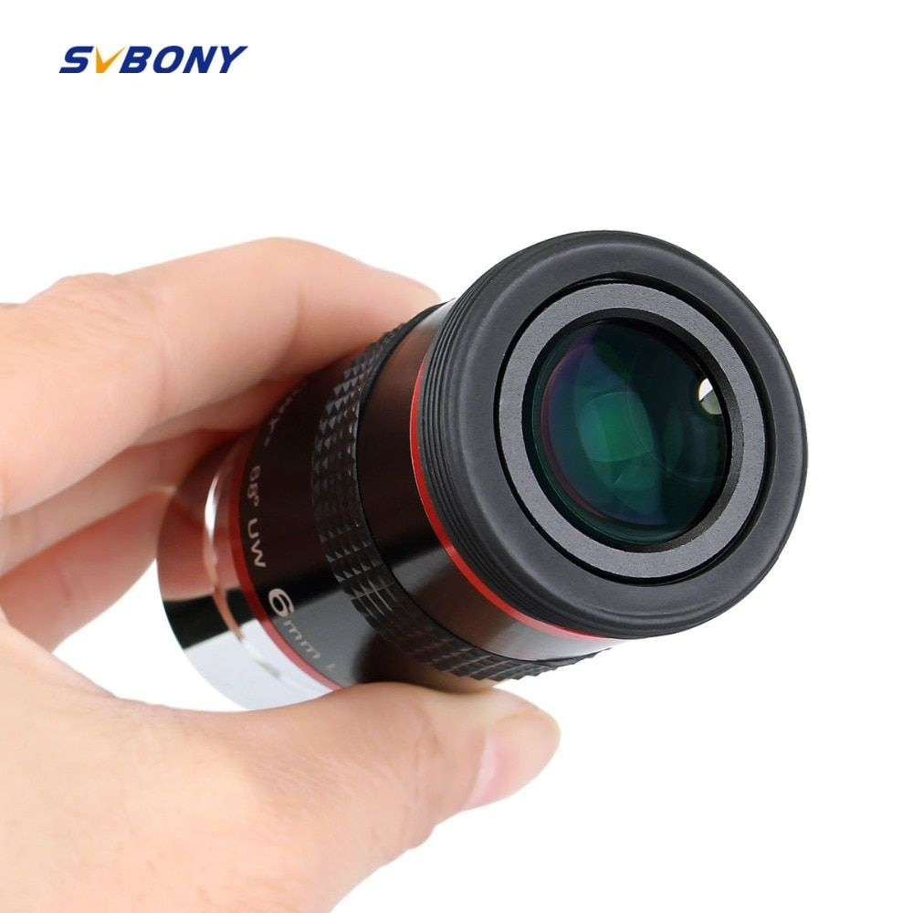 Svbony Eyepiece FMC 1.25 68 Degree Ultra Wide Angle 6mm 9mm 15m 20mm for Astronomical <font><b>Telescope</b></font> Monocular Hot 1 pc F9152A