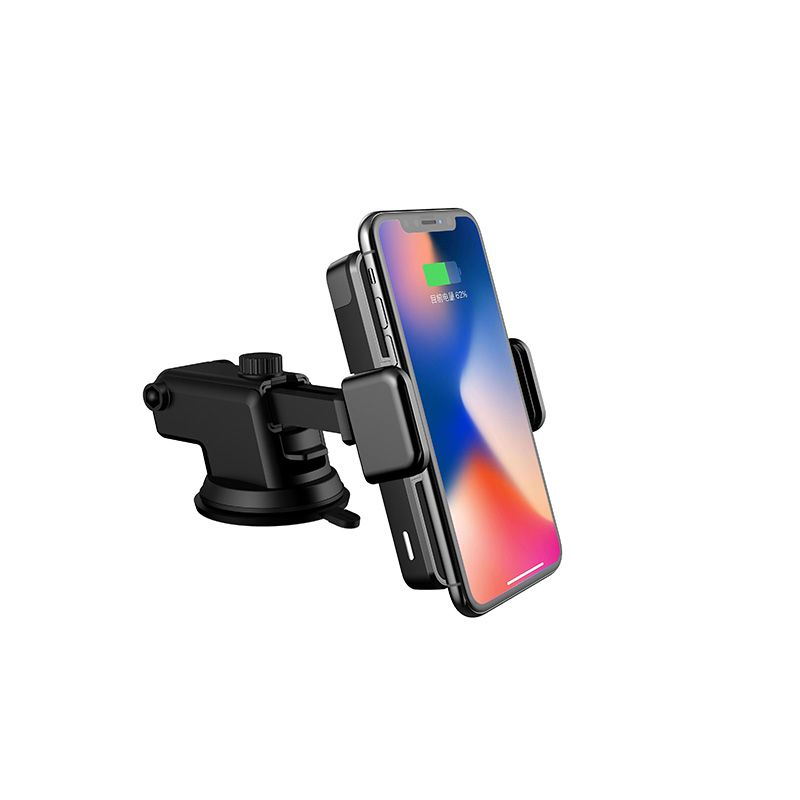 Car Mount Wireless Charger For IPhone X 8 Plus Samsung Universal Model Flash Charge Air Purification Sucker Mobile Phone Holder