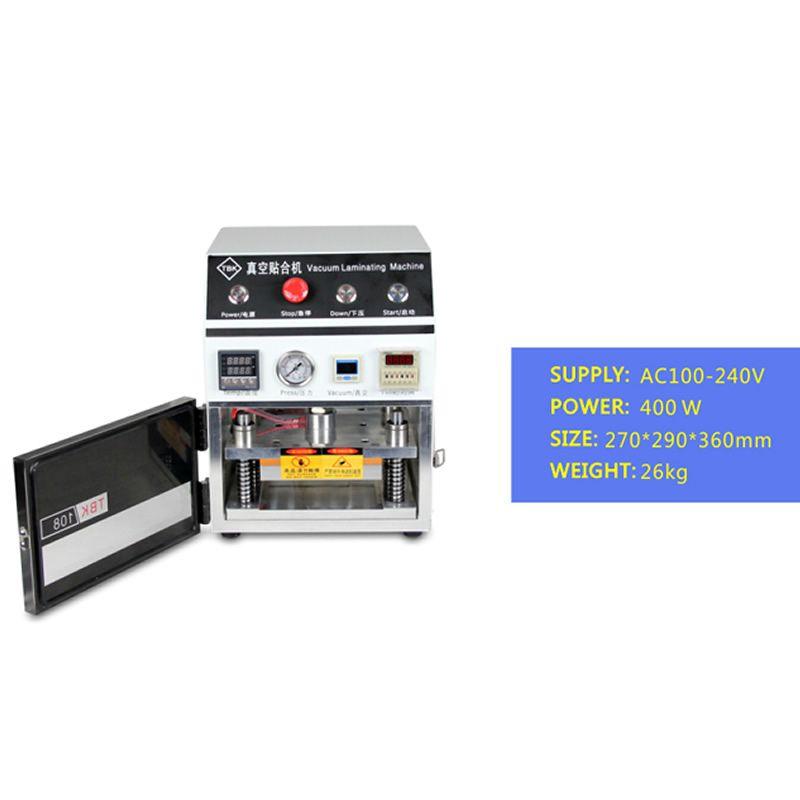 No Tax to Russia & Ukraine, OCA Laminator LY 838 7 inch 220V/110V OCA vacuum lamination machine