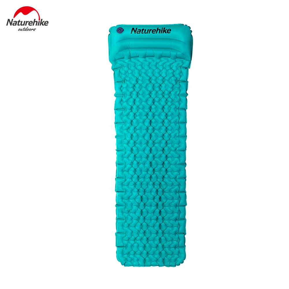 Naturehike Fastly <font><b>Inflate</b></font> Moisture-proof Mattress With Pillow Ultralight TPU Camping Mat NH17T024-T