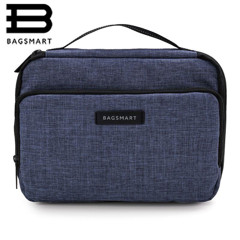 BAGSMART Портативный Путешествия Аксессуары дизайн сумки большой емкости электронных воды resistantair дорожная сумка