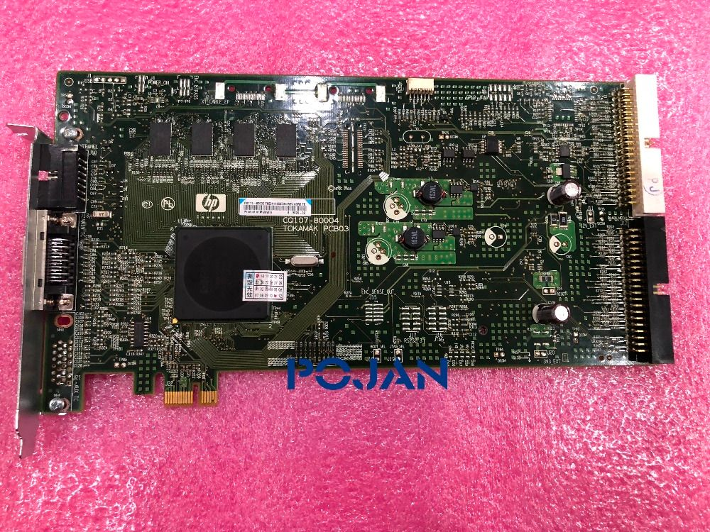 CQ109-67028 PCI PCA CARD 42-60'' Designjet z6200 z6600 z6800 T7100 PS Peripheral Component Interconnect BOARD ,POJAN
