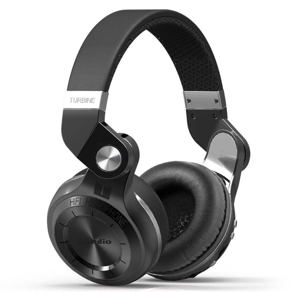 Bluedio T2plus (Shooting Brake) Bluetooth stereo headphones wireless headphones Bluetooth 4.1 headset over the Ear headphones