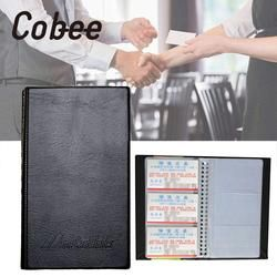 Cobee a Transparent Nom de l'entreprise De Carte Voyage Livre Carte de Crédit Portefeuille Dossier Organisateur En Cuir Bureau Fournitures Scolaires