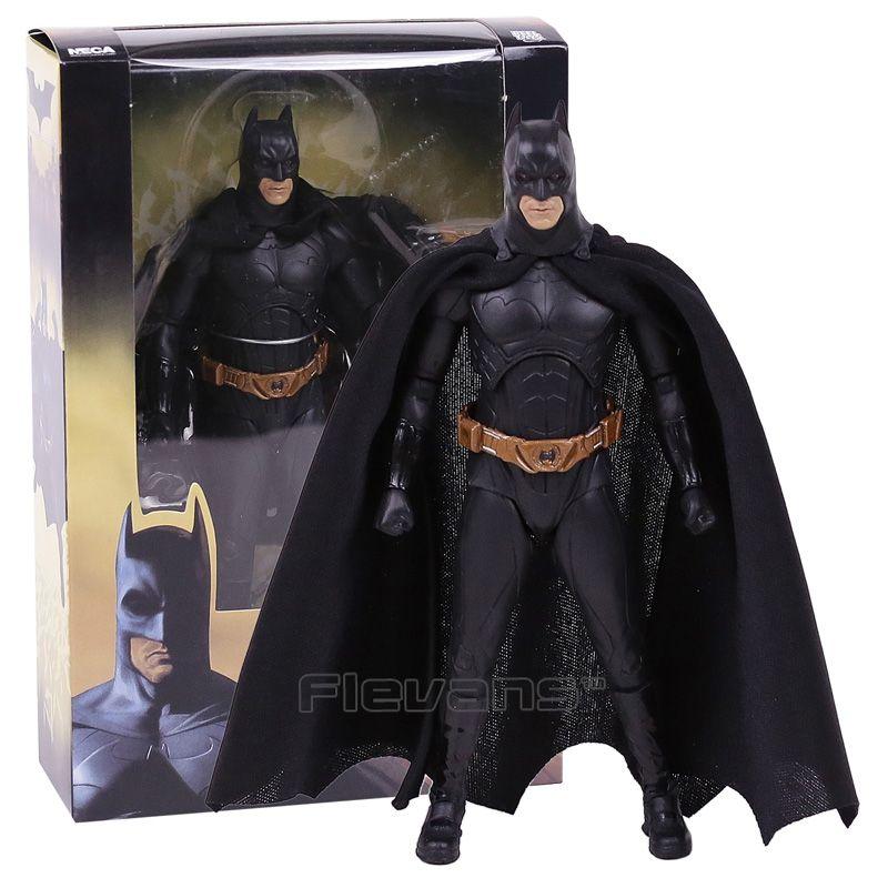 NECA Batman Begins Bruce Wayne PVC Action Figure Collectible Model Toy 7inch 18cm