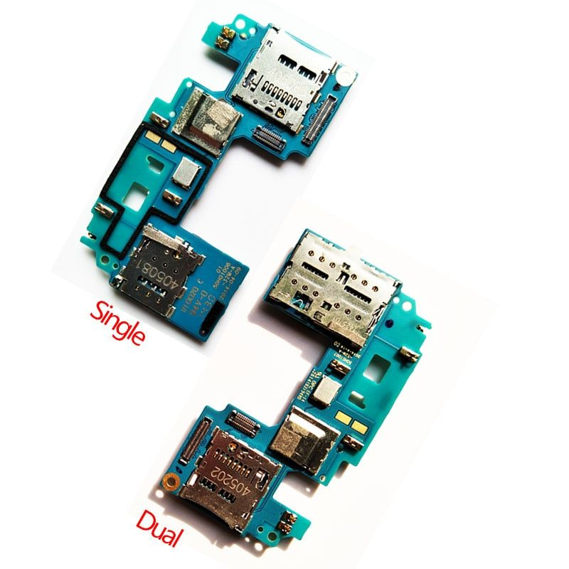 New For HTC One E8 SIM Card Reader Slot Holder+ SD Card Slot Flex Cable Board Ribbon Repair Parts