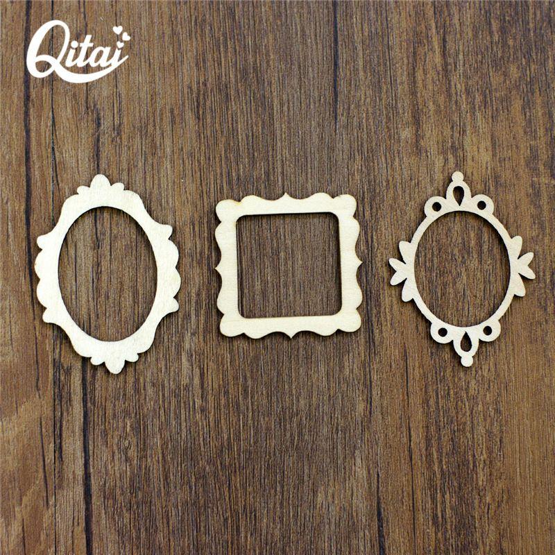 QITAI 72 pièces 3 sortes d'accessoires faits à la main avec différents Styles bricolage scrapbooking pour enfants cadeaux décoration de la maison WF081A