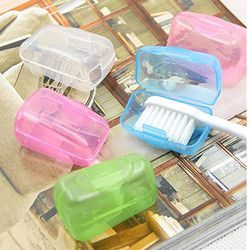 High Quality 5 PCS Portable Toothbrushes Head Cover Holder Travel Hiking Camping Case Newest  Plastic Storage Container Hot