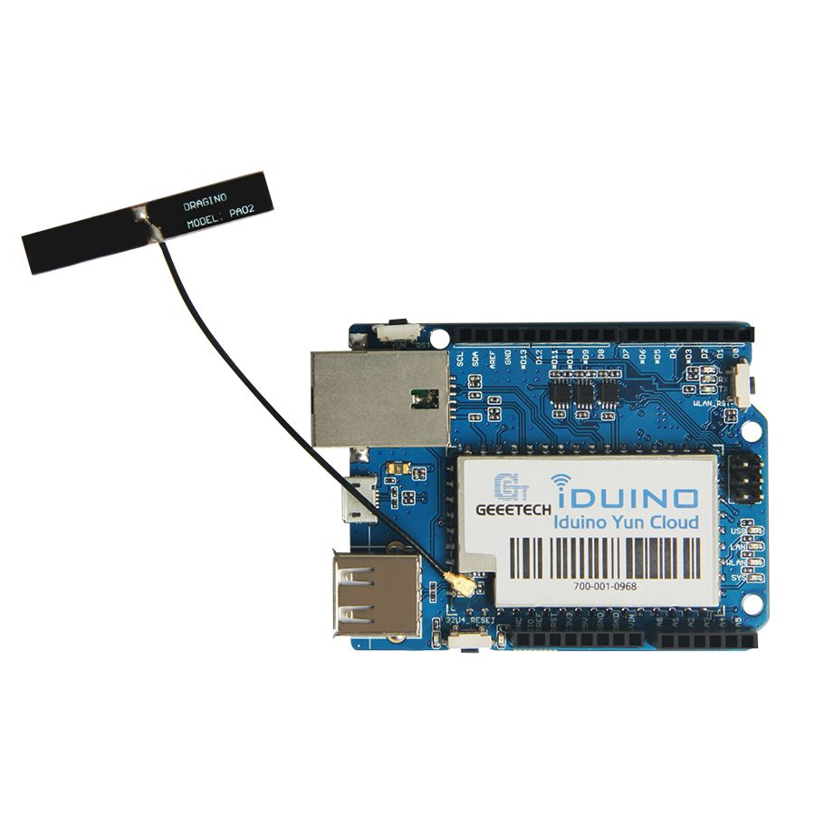 Linux, WiFi, Ethernet, USB, All-in-one Iduino Yun Cloud Compatible / Replacement For Arduino Yun
