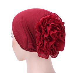 Musulman Foulard Pile Tas Cap Femmes Souple Confortable Hijab Caps Islamique La Chimiothérapie Chapeau