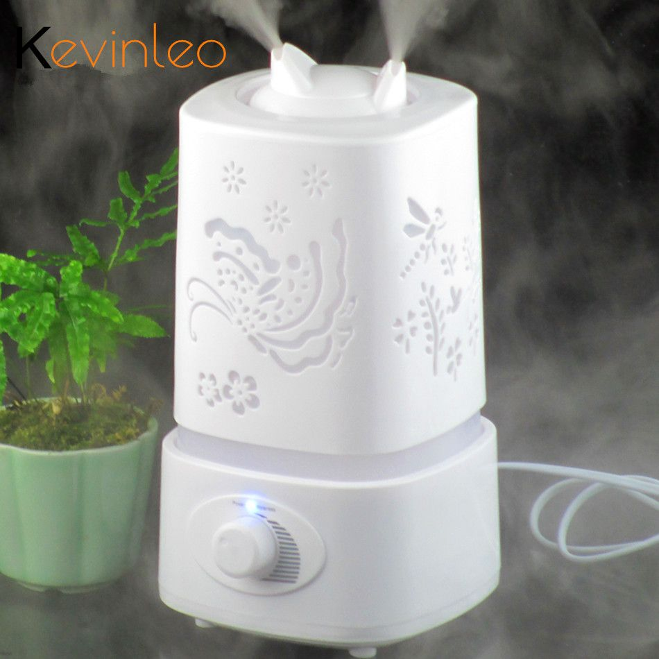 Air Humidifier Ultrasonic 110-240V Night Lamp Aromatherapy Mist Foger Maker Essential Oil Diffuse Humidifiers for Home