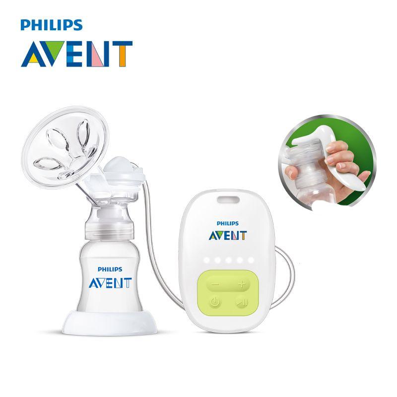 AVENT Einzigen Manuelle Brust Pumpe Elektrische Automatische Massage Fütterung BPA FREI Bequemlichkeit Baby Saugen Milch Squeeze Pumpe