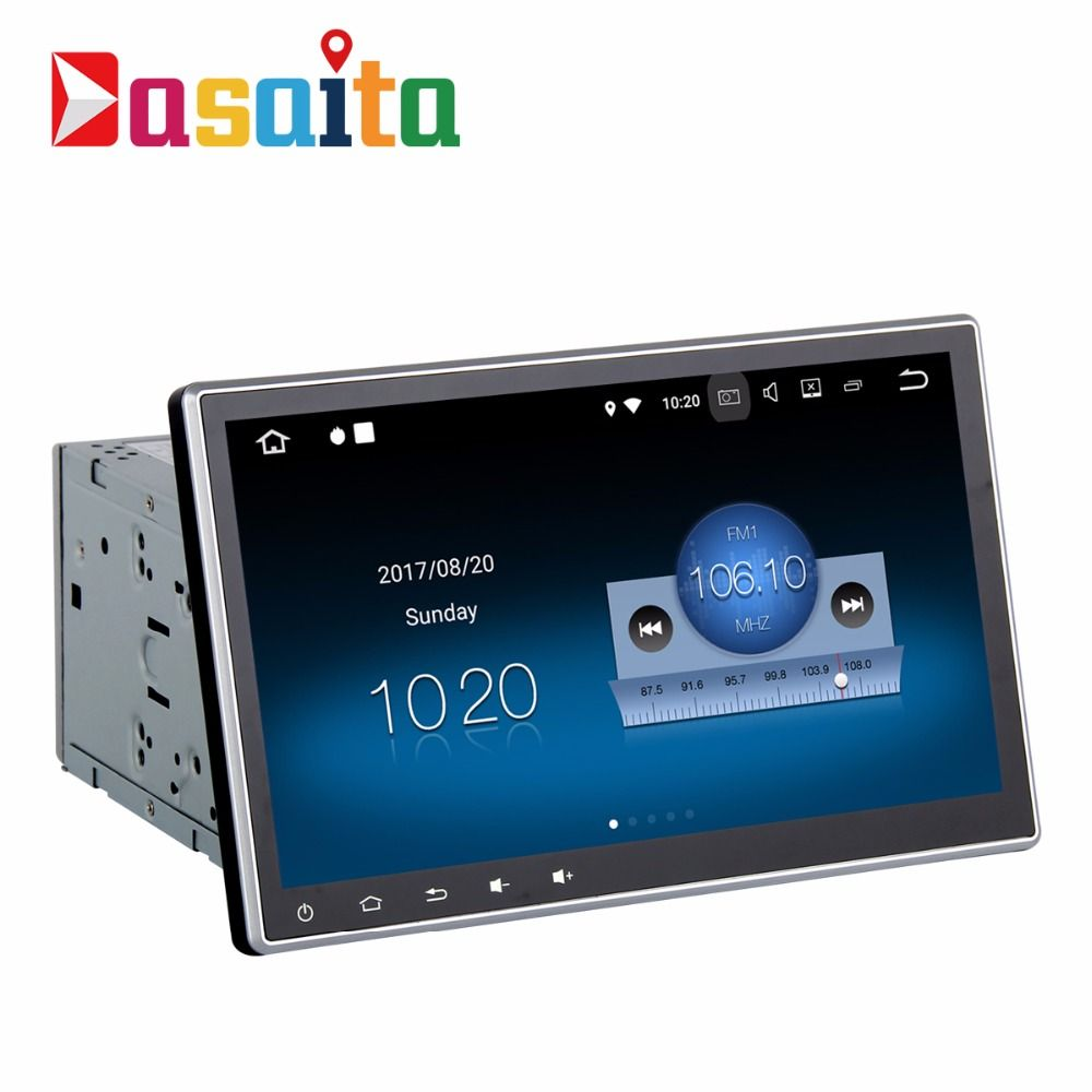 2 Din Car Radio GPS Android 8.1 Detachable Panel with 2G+16G Quad Core Stereo Auto Multimedia fit for Nissan Honda Toyota