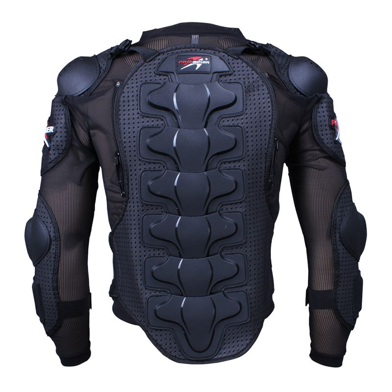 Motorcycle Racing Armor Protector Motocross Off-Road Chest Body Armour Protection Jacket Vest Clothing Protective Gear HX-P13
