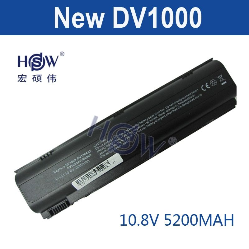 5200mAh LAPTOP Battery for HP Pavilion G3000 G5000 dv1000 dv4000 dv5000 for Compaq Presario C300 C500 M2000 v2000 v4000 v5000