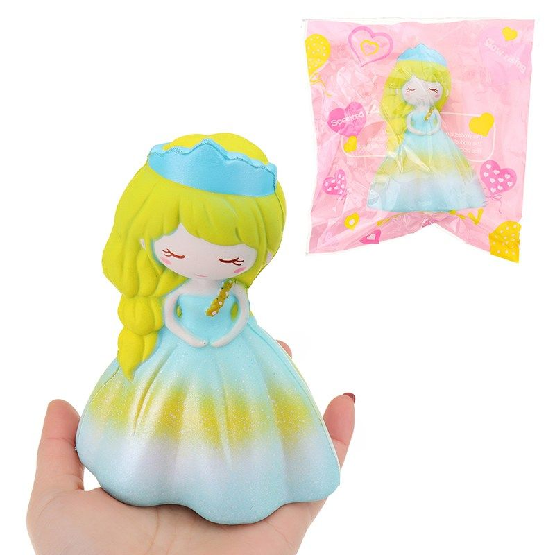 Cute for Squishy Princess Wedding Girl Slow Rising Phone Hand Squeeze Toy Gift Soft squishies unicorned Stress Reliever Toy