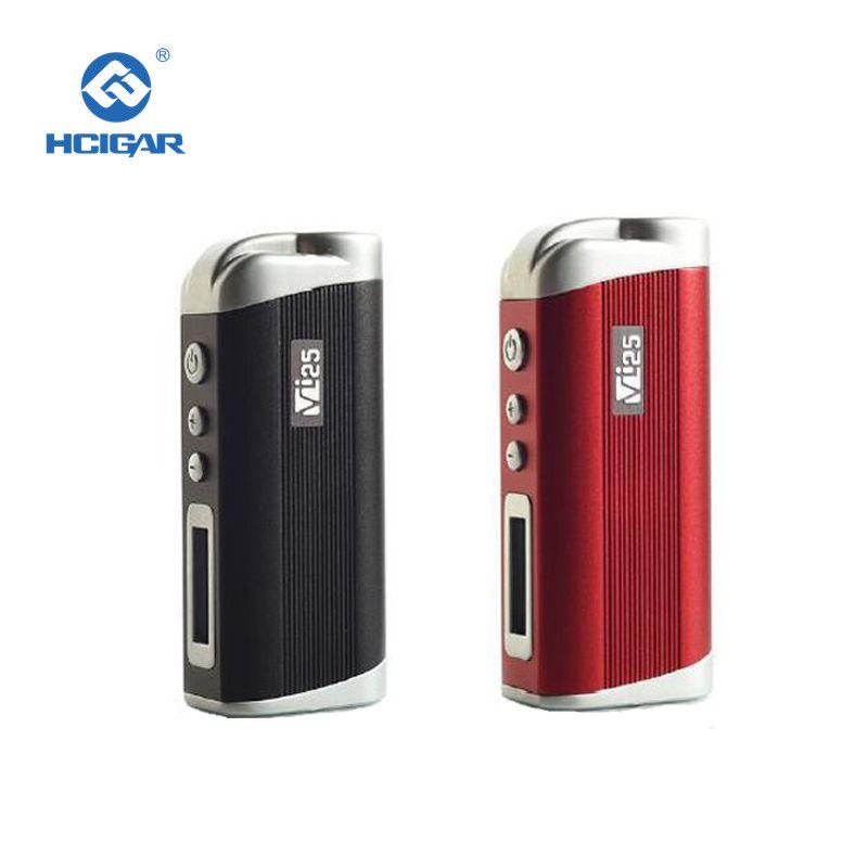 Original HCigar VT25 Box mod 1-25 Watt Evolve DNA25 chip Integrierte 2000 mAH batterie elektronische zigarette vape mod