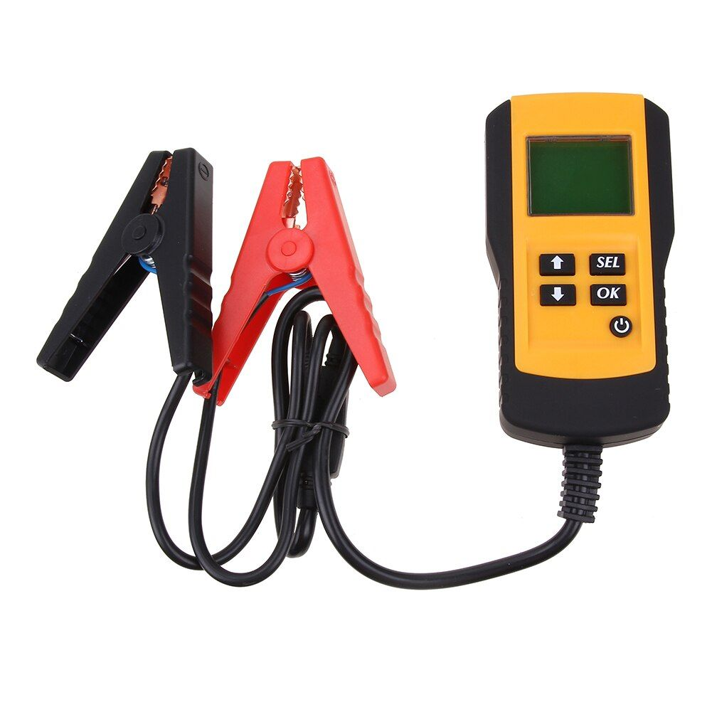 12V Digital Vehicle Car Auto Battery Tester Automotive Car Accumulator Battery Condition Analyzer Voltage ohm CCA Test Detector