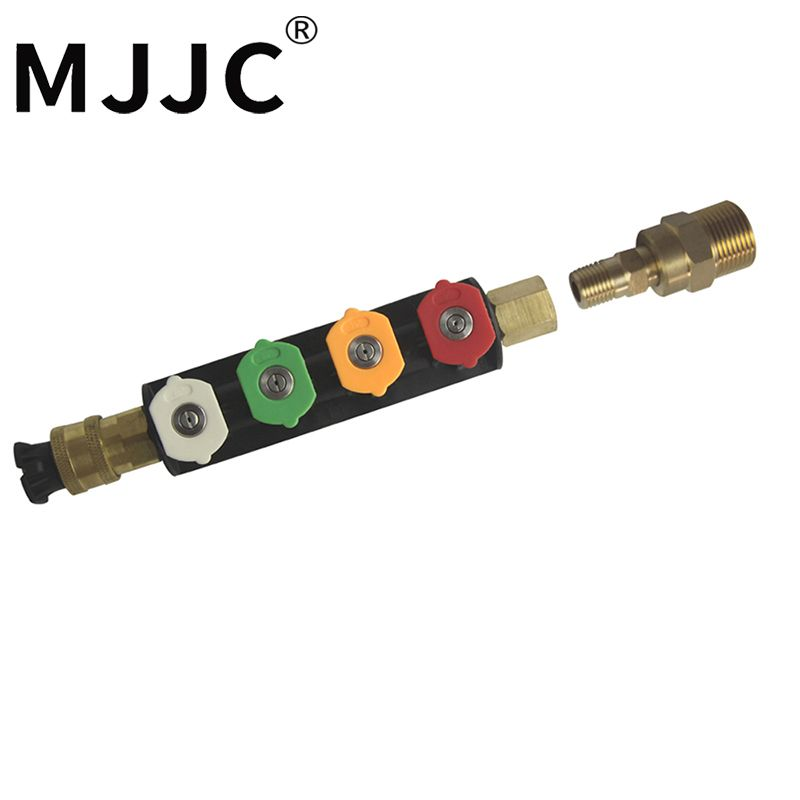 MJJC Brand Water Spray Lance Water Wand Nozzle with M22 Male Thread Connection To Attach To Pressure Washers High Quality