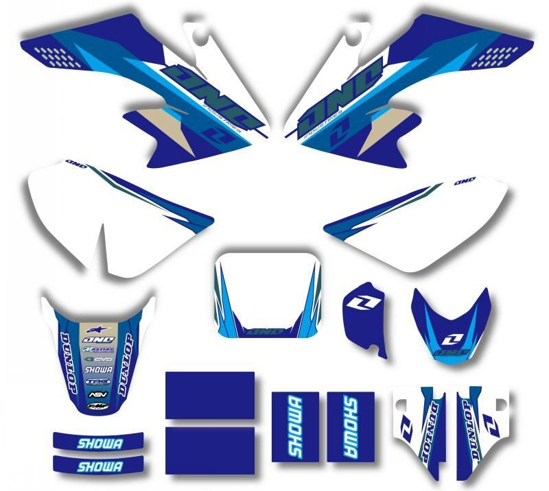 GRAPHICS & BACKGROUNDS DECAL STICKERS Kits For Honda CRF50 CRF50F 2004 - 2012 2006 2007 2008 2010 2011 CRF 50 50F