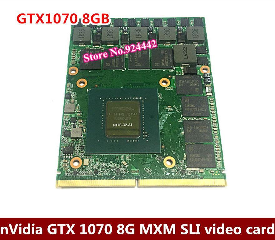 For Dell Alienware / MSI / Clevo Laptop nVIDIA GeForce GTX 1070 8g Sli GPU 8GB GDDR5 Graphics Card Send BY DHL