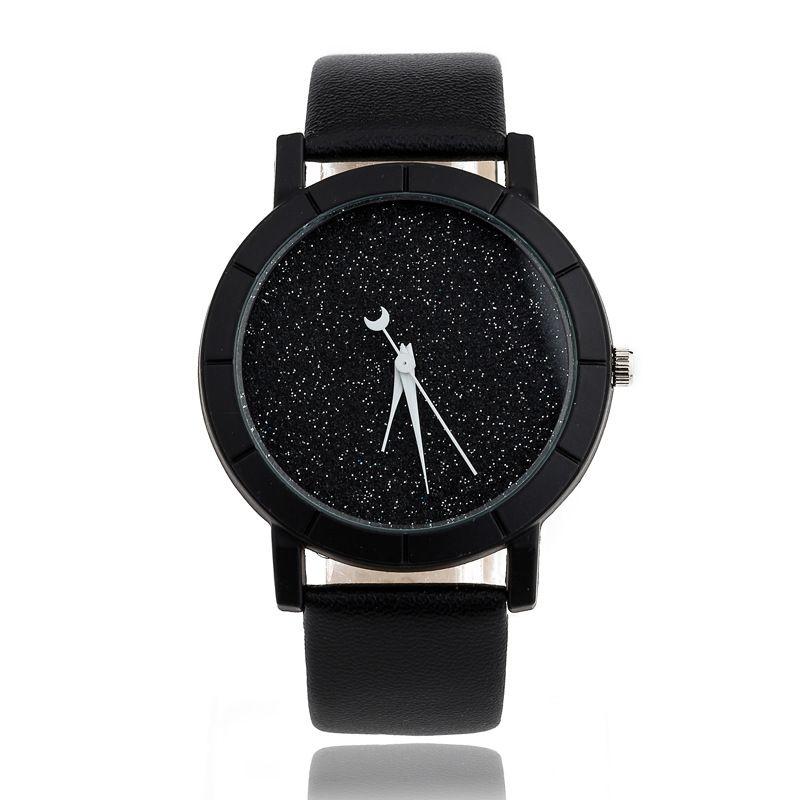 BAJEETA nouvelle mode Simple Style femmes montre décontracté Quartz cuir étudiant montre hommes offre spéciale analogique montre-bracelet Relogio Feminino
