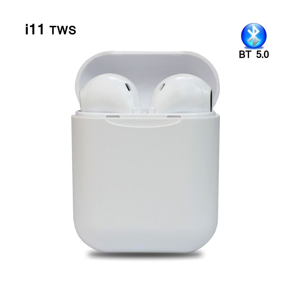 I11 tws Bluetooth Earphone 5.0 Wireless Stereo Earbuds head phones headset With Charging Box for all smart phone