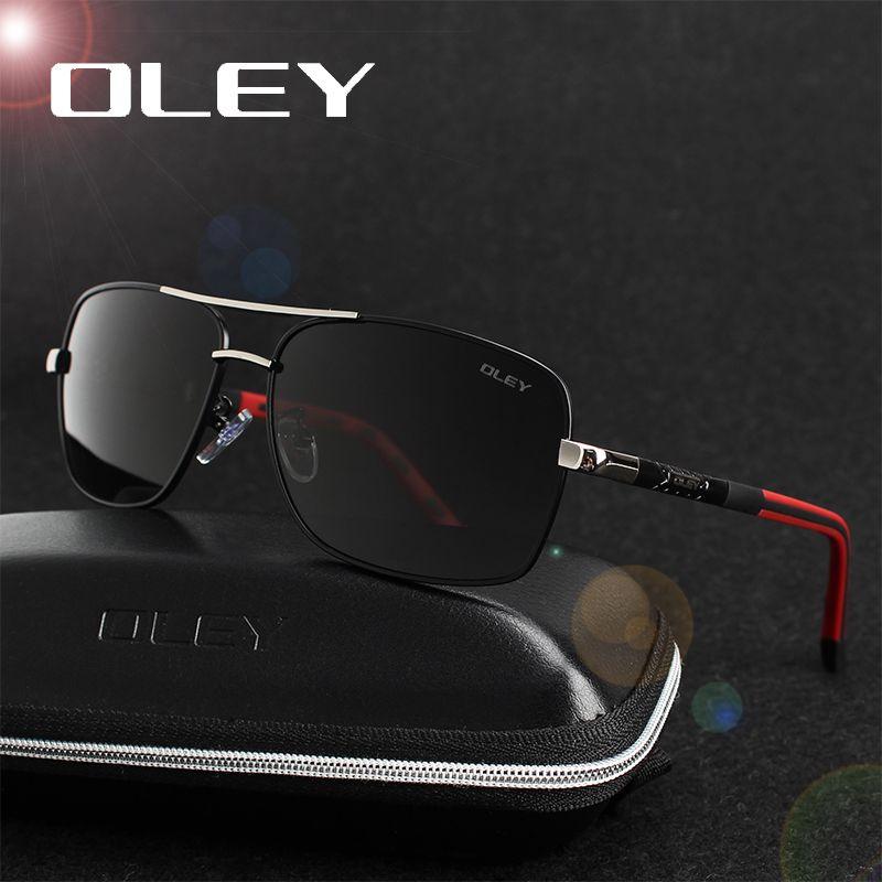 Олей бренд поляризованные Солнцезащитные очки для женщин Для мужчин новая мода Средства ухода для век защиты Защита от солнца Очки с Интимн...