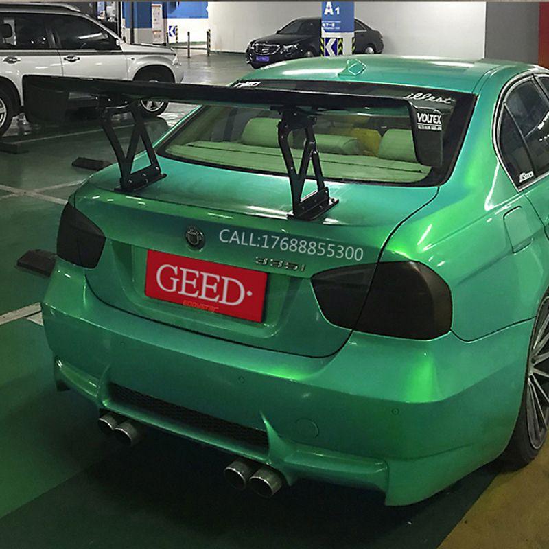 Für BWM E90 M3 318i 320i 325i 330i 100% Carbon Fiber Universal Hinten Flügel Spoiler GT Stil