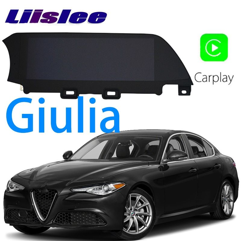 LiisLee Car Multimedia GPS HiFi Audio Radio Stereo For Alfa Romeo Giulia 2016~2018 Original Style Navigation NAVI