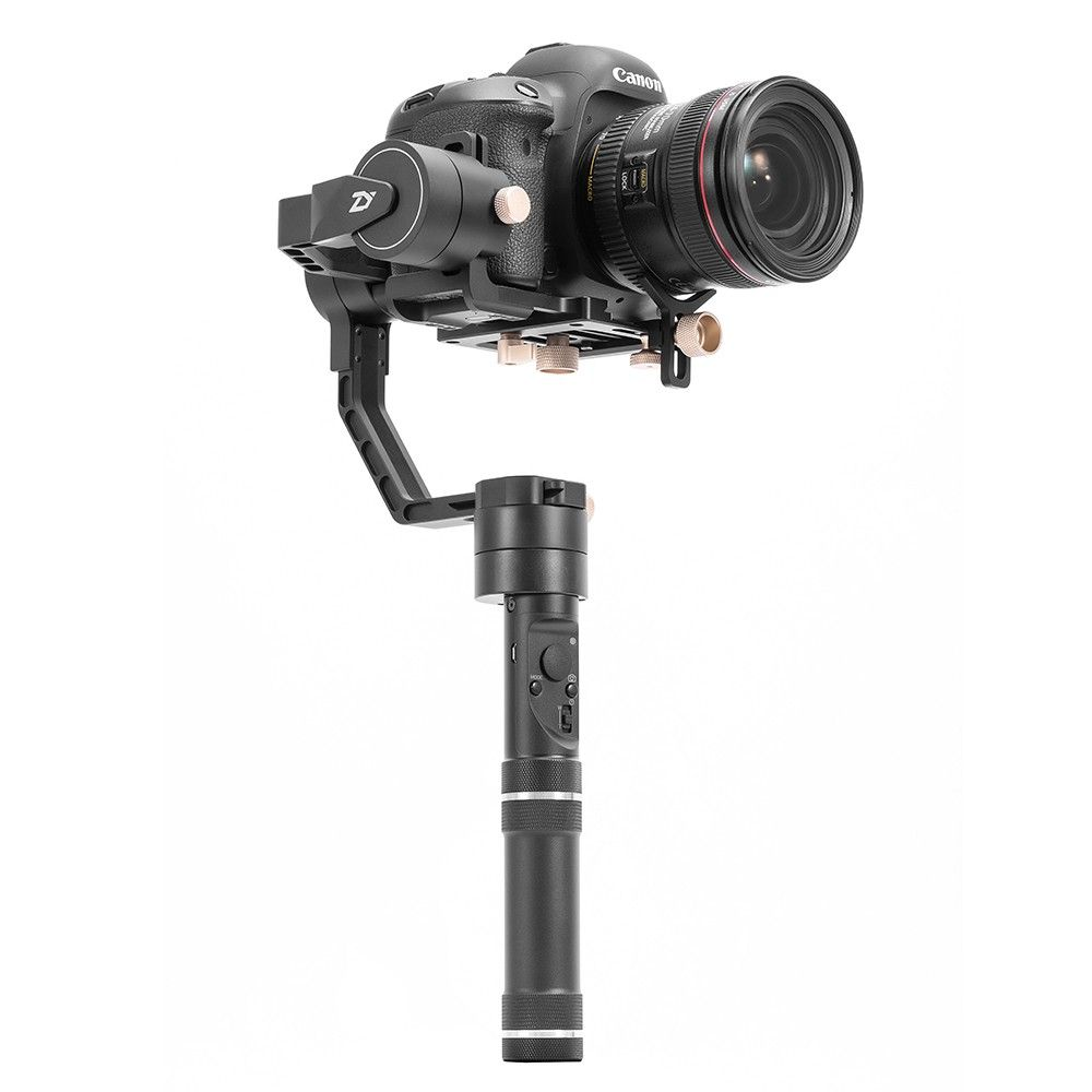 Free ship DHL Zhiyun Crane plus 3-axis Handheld DSLR Stabilizer Handheld Gimbal Max payload 2.5kg for Mirrorless DSLR Cameras