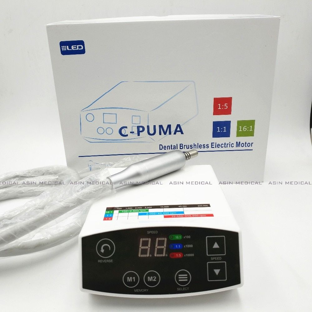 2016 new COXO brand Dental LED Brushless Mini Electric micro motor System C-PUMA New Arrival electrical micromotor