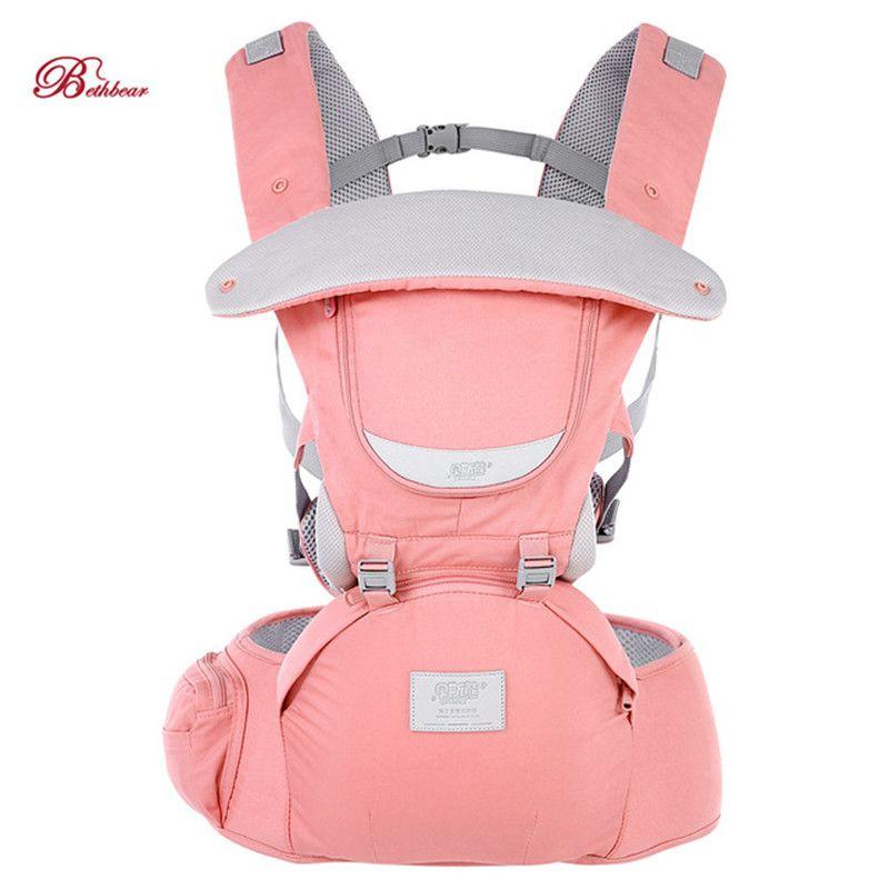 2019 nouveau Bethbear 0-36 mois porte-bébé 3 en 1 réglable siège de hanche nouveau-né taille tabouret porte-bébé infantile fronde sac à dos