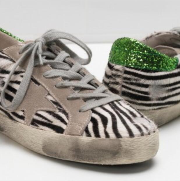 BBK INS Niños Ocasional Zapatos de Moda Niños Niñas Deporte Zapatos zapatillas cómodas de cuero genuino pelo de caballo de moda