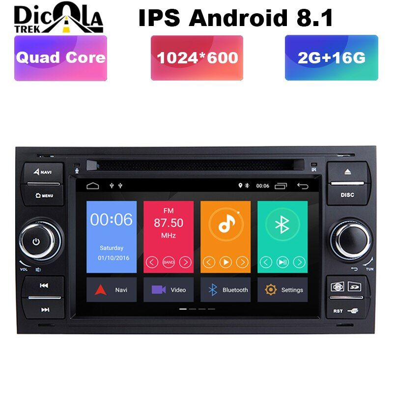 Android 8.1 Auto DVD Quad core für Ford Mondeo C-max fokus galaxy S-max fusion ranger flucht expedition fiesta auto dvd auto stereo