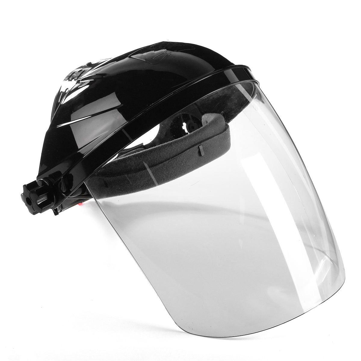 Nueva lente transparente anti-uv anti-choque casco Cara escudo Máscara de Soldadura Cara ojo proteger anti-choque