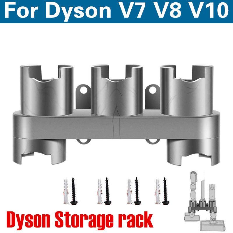 Chaud!!! Accessoires équipement de stockage étagère pour Dyson V7 V8 V10 absolu brosse outil buse support de Base pièces d'aspirateur