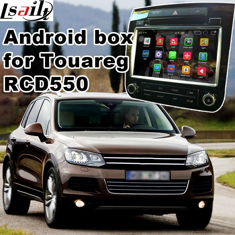 Android 6.0 GPS navigation box for Volkswagen Touareg RCD550 system video interface box with Carplay youtube waze yandex navi