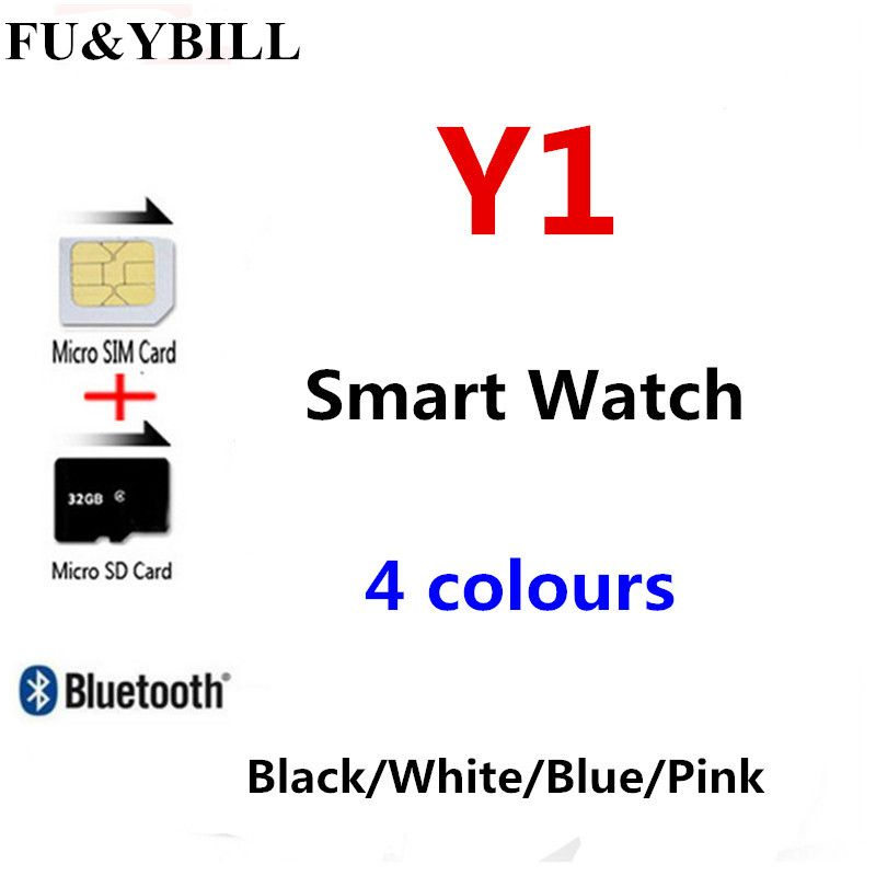 Fu&y Bill Smart Watch 1.54 Touch Screen Fitness Activity Tracker Sleep Monitor <font><b>Pedometer</b></font> Calories Track Support SIM Card Solt