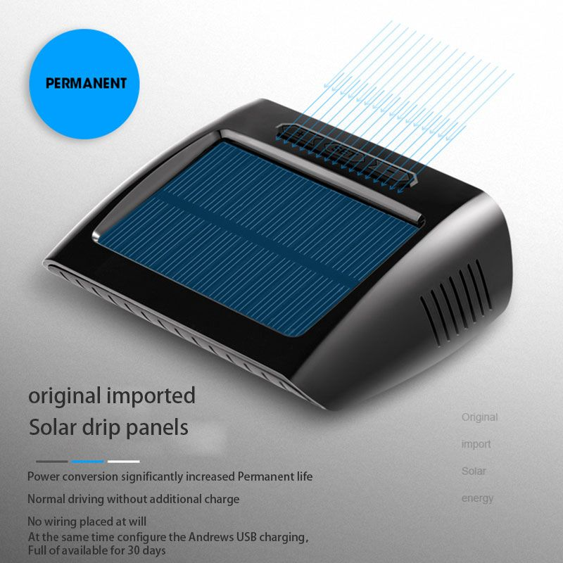 Solar Energy Car TPMS with 4 Internal Sensors Tire Pressure Monitor Temperature System Real Time Digital Display Wireless Alarm
