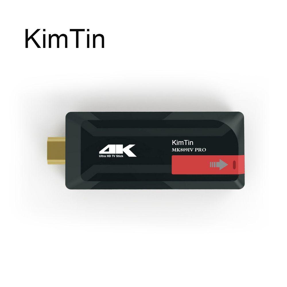 KimTin MK809IV Pro D'android De Noyau de Quadruple 7.1 Boîte de télévision RK3229 penta-core GPU 2 GB/8G 4 K H.265 3D 2.4G Wifi Bluetooth4.0 Google Mini PC