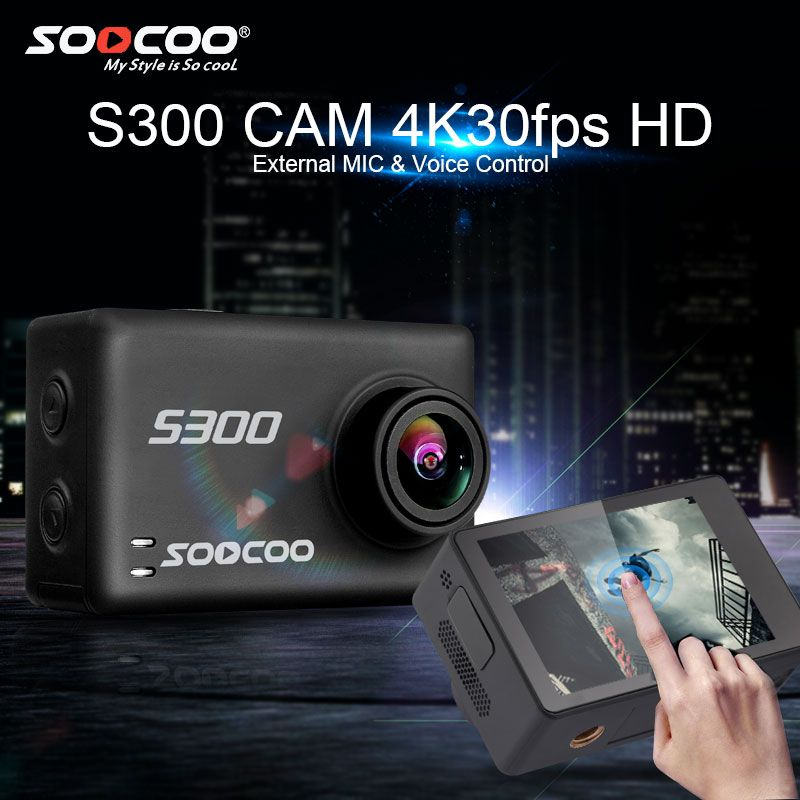 SOOCOO S300 4k Action Camera with Hi3559V100 + IMX377 and 2.35