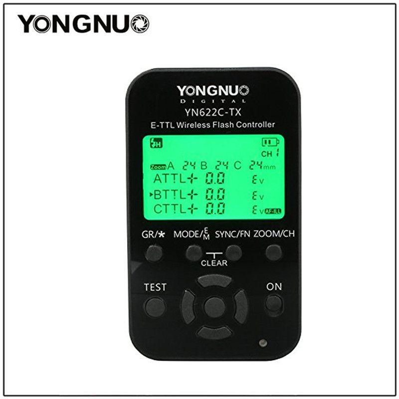 Contrôleur de Flash sans fil YONGNUO YN-622N-TX YN622C-TX TTL pour NikonD800/D3000/D5000/D7000 pour Canon 1100D YN-622C-TX YN622N-TX