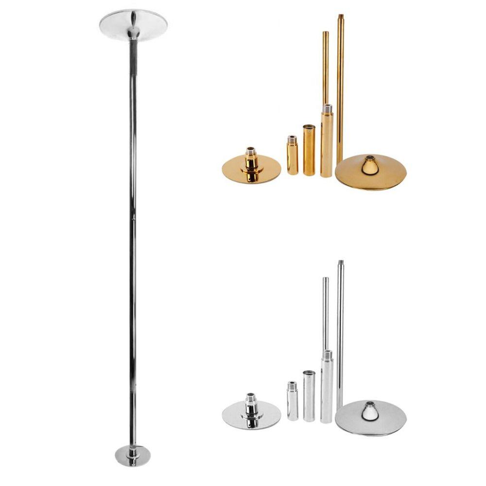 2.3~ 2.7m Stripper Pole Dance 360 Professional Dancing Pole Set Removable Home Gym Fitness Spinning Steel Pole Kit For Beginner