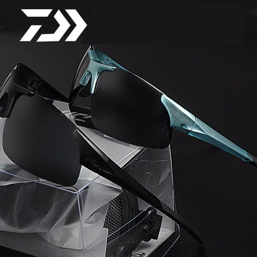 Daiwa Pêche Sportive en plein air lunettes de Soleil fit plus lunettes lunettes de soleil De Pêche Escalade Lunettes de Soleil avec pescaResin lentilles Polarisées